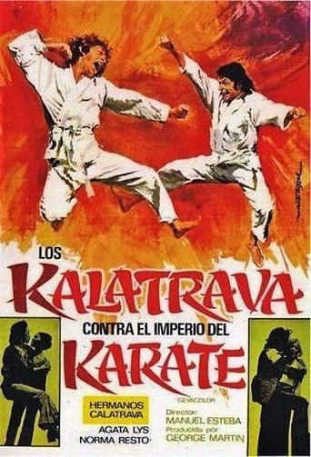 Poster of Los Kalatrava contra el imperio del karate