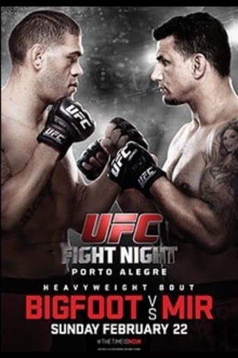 Poster of UFC Fight Night 61: Bigfoot vs. Mir