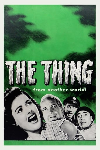 Poster of The Thing from Another World