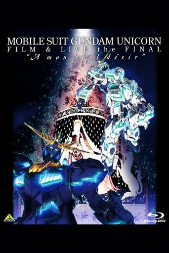 Poster of Mobile Suit Gundam Unicorn Film And Live The Final - A Mon Seul Desir
