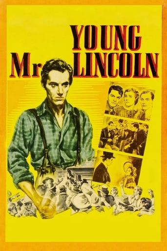 Poster of Молодой мистер Линкольн