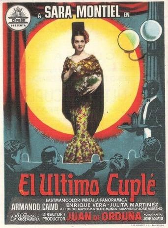 Poster of El último cuplé