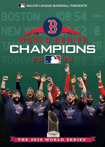 Poster of 2018 World Series Champions: The Boston Red Sox