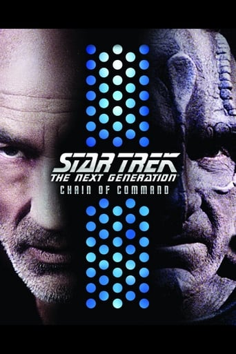 Poster of Star Trek The Next Generation - Chain of Command
