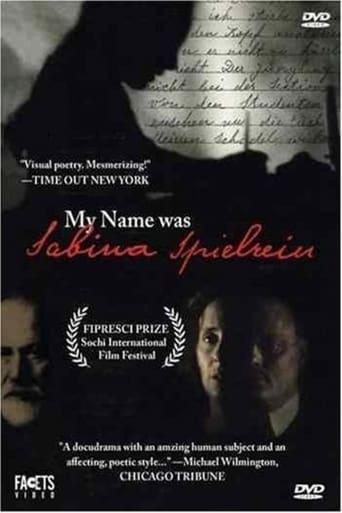 Poster of My Name Was Sabina Speilrein