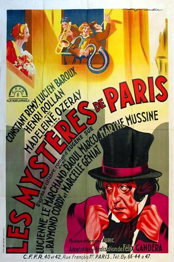Poster of Les mystères de Paris