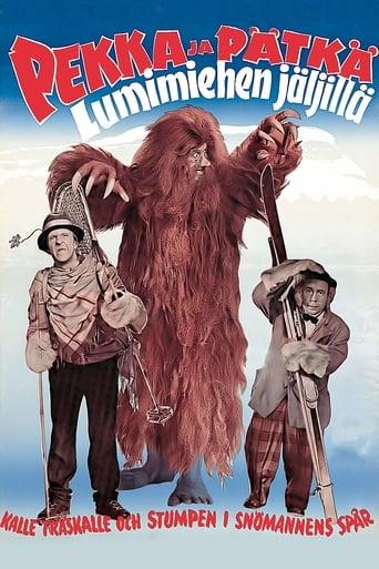 Pekka ja Pätkä lumimiehen jäljillä Poster