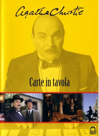 Poster of Poirot: Carte in tavola