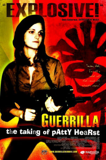 Poster of Guerrilla: The Taking of Patty Hearst