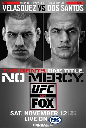 UFC on Fox 1: Velasquez vs. Dos Santos