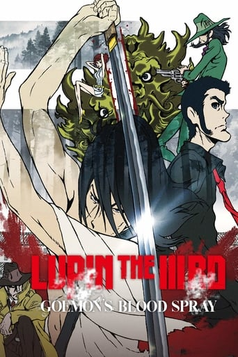 Poster of Lupin the Third: Goemon's Blood Spray