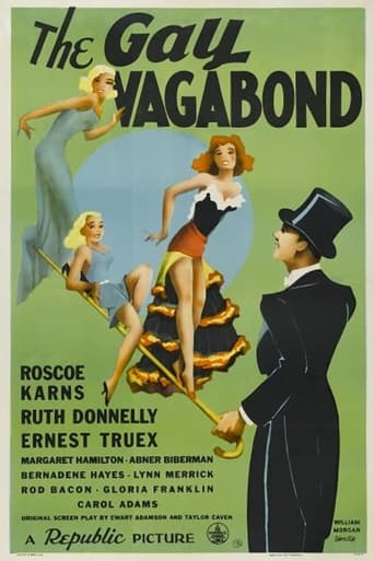 Poster of The Gay Vagabond