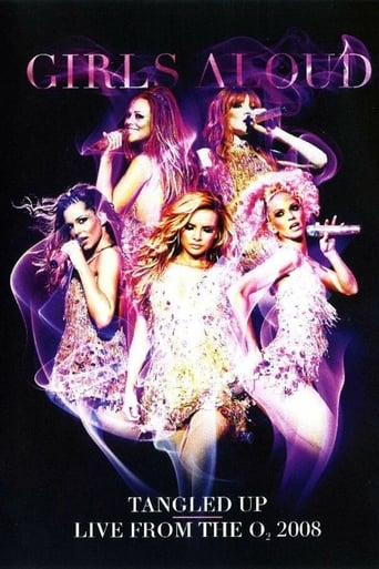 Poster of Girls Aloud: Tangled Up - Live from the O2 2008