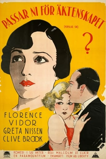 Poster of The Popular Sin