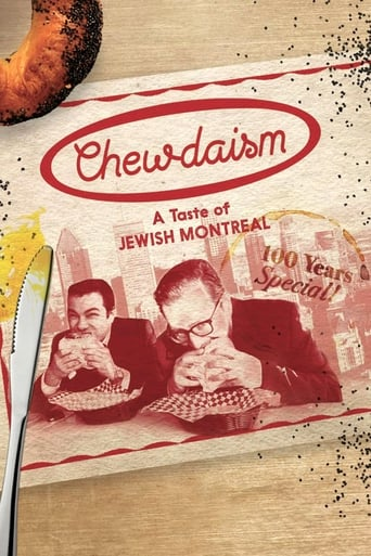 Poster of Chewdaism: A Taste of Jewish Montreal