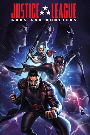 Poster of Justice League: Gods and Monsters