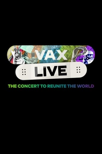 Poster of Vax Live: The Concert to Reunite the World
