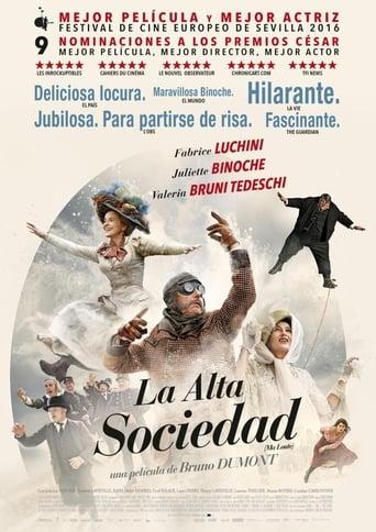 Poster of La alta sociedad