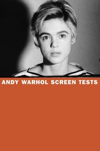 Poster of Andy Warhol Screen Tests