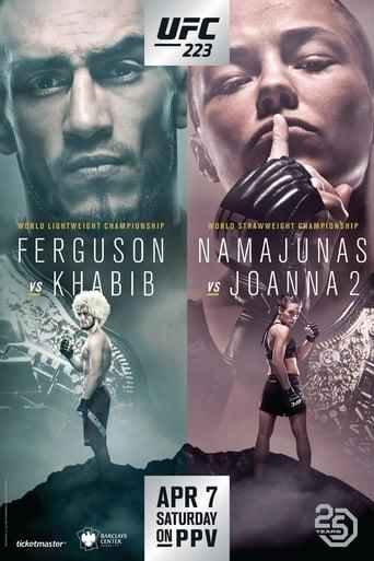 Poster of UFC 223: Khabib vs. Iaquinta