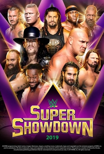 Poster of WWE Super ShowDown 2019