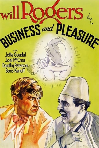 Poster of Business and Pleasure