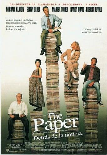 Poster of The Paper (Detrás de la noticia)