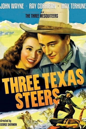 Poster of Three Texas Steers