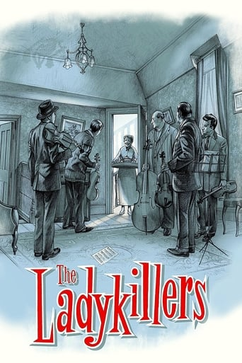Poster of The Ladykillers