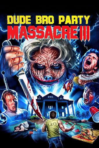 Poster of Dude Bro Party Massacre III