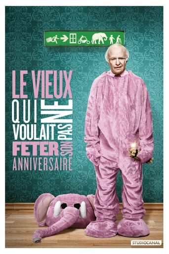 Poster of Le vieux qui ne voulait pas fêter son anniversaire
