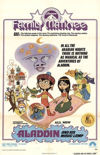 Poster of Aladdin and His Magic Lamp