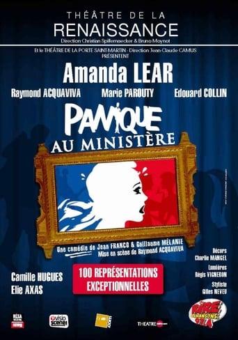 Poster of Panique au ministère