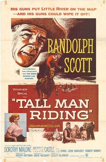 Poster of Tall Man Riding