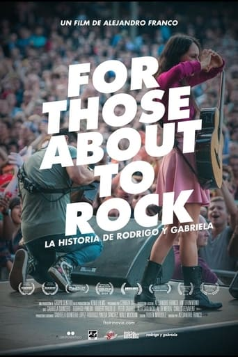 Poster of For Those About to Rock. The Story of Rodrigo y Gabriela