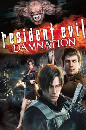 Poster of Resident Evil: Damnation