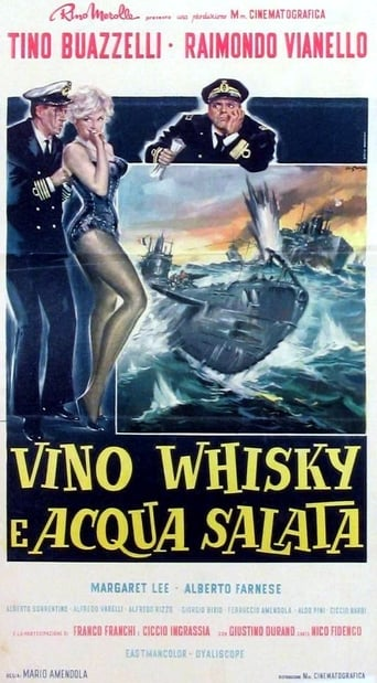 Poster of Vino, whisky e acqua salata
