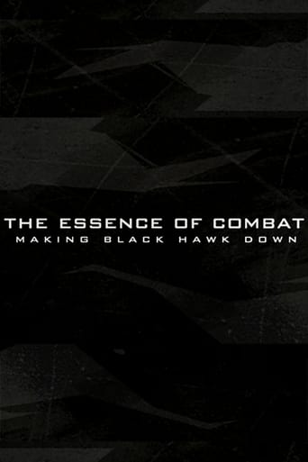 Poster of The Essence of Combat: Making 'Black Hawk Down'