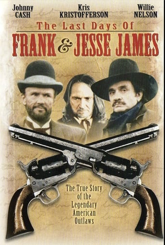 Poster of The Last Days of Frank and Jesse James