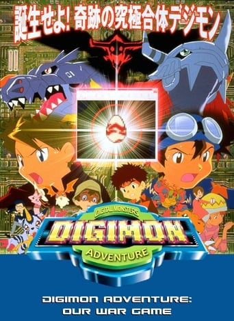 Poster of Digimon Adventure: Our War Game