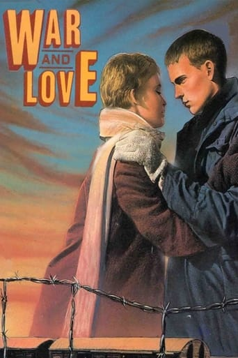 Poster of War and Love