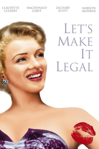 Poster of Let's Make It Legal
