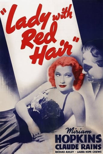 Poster of Lady with Red Hair