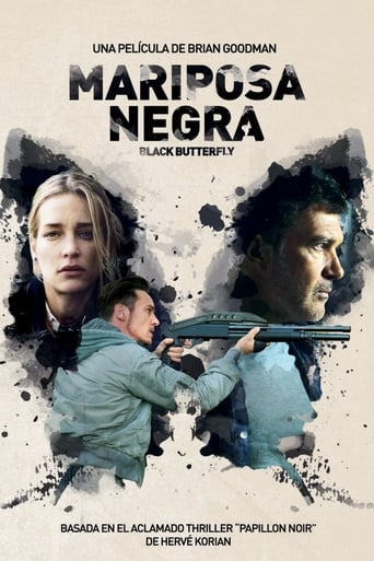 Poster of Mariposa negra (Black Butterfly)