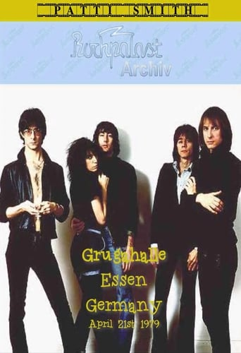 Poster of Patti Smith Group: LIve on Rockpalast
