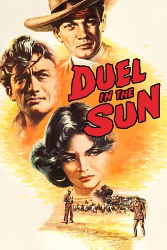 Poster of Duel in the Sun