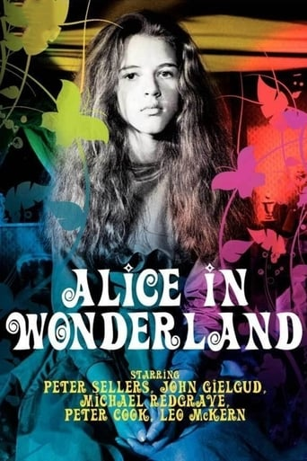 Poster of Alice in Wonderland