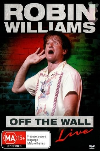 Poster of Robin Williams: Off the Wall