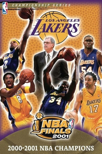 Poster of 2001 NBA Champions: Los Angeles Lakers