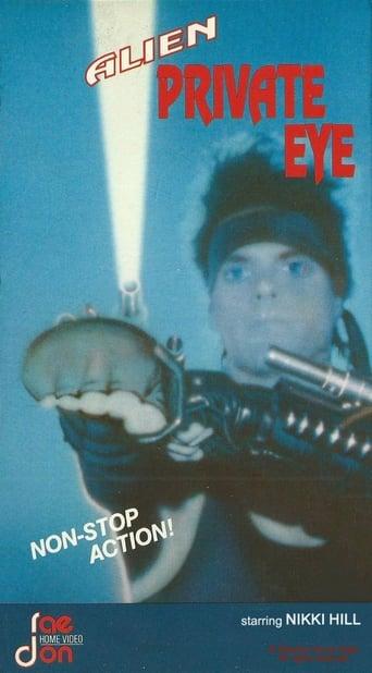 Poster of Alien Private Eye